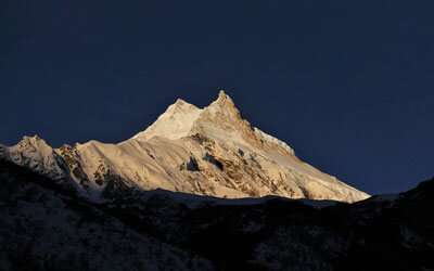 View of Mt. Manaslu