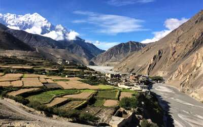 Trekking into the restricted area of Nepal