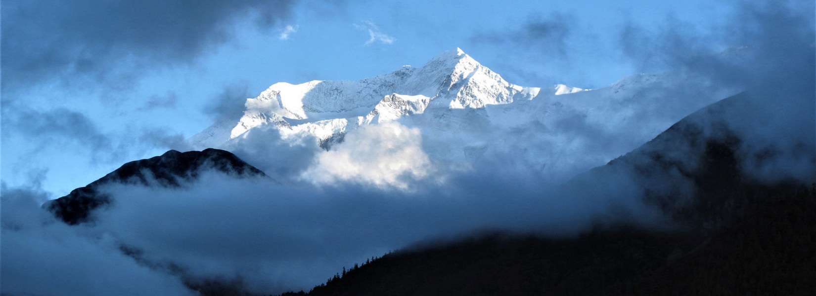 View of Annapurna - Annapurna circuit and ABC Trek