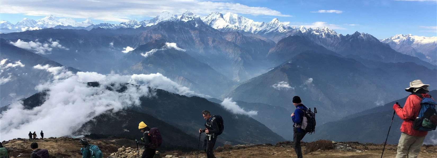 Trekking into the Region of Langtang Gosaikunda