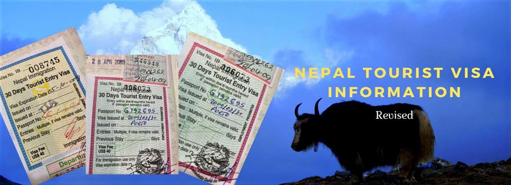 Nepal Tourist Visa Information