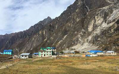 Trekking in Langtang region